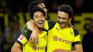 In der Hinrunde war er noch für Dortmund aktiv: Shinji Kagawa (l.)