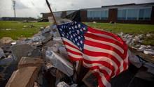 Tornado-Schäden in Dayton, Ohio