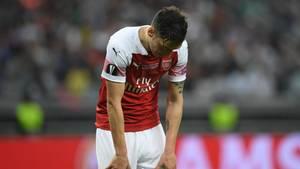 Mesut Özil verliert mit Arsenal das Europa-League-Finale gegen den Stadtrivalen Chelsea
