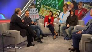 Mit Kevin Kühnert undNico Semsrott hatte sich Sandra Maischberger gleich zwei junge Politiker eingeladen, um über die Altparteien zu diskutieren