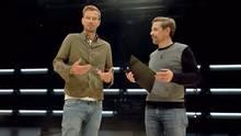 """Joko (links) und Klaas moderierten den 15-minütigen Beitrag nur kurz an - und ließen dann andere sprechen, """"die mehr zu sagen haben""""."""