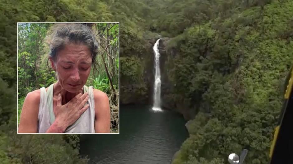 Verschollen auf Hawaii: 17 Tage Überleben im Dschungel: Amanda Eller erzählt von ihrem Kampf in der Wildnis