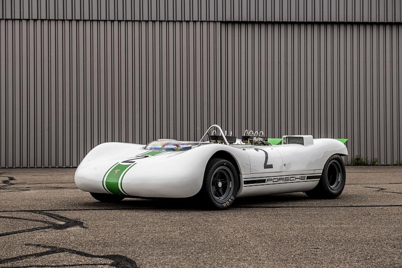 Der Porsche 909 Bergspyder fuhr 1968 von Sieg zu Sieg bei den Bergrennen