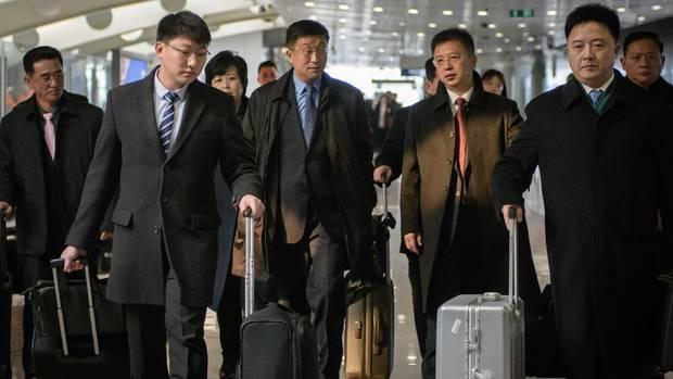 Nordkorea Hinrichtung Delegation