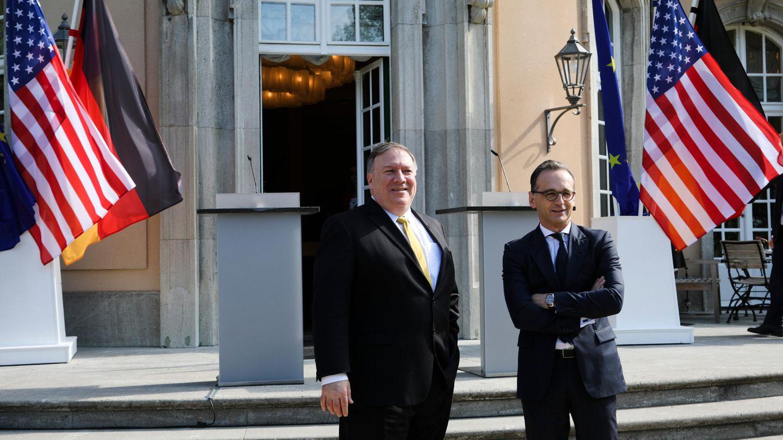 Mike Pompeo, Außenminister der USA, zu Besuch in Deutschland