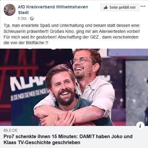 AfD Kreisverband Wilhelmshaven Stadt