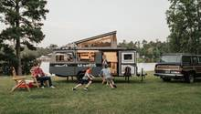 Das offene Konzept eignet sich weniger für einen eng gestellten Campingplatz.
