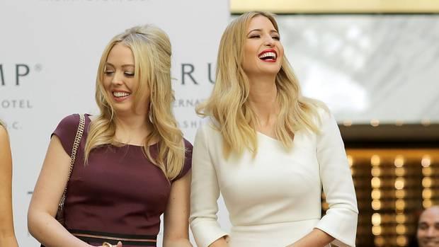 Tiffany (l.) und Ivanka Trump