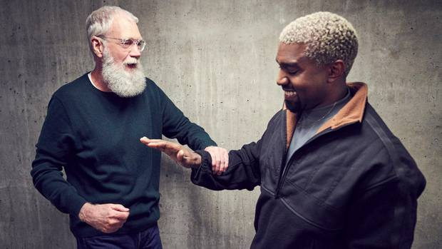 David Letterman und Kanye West