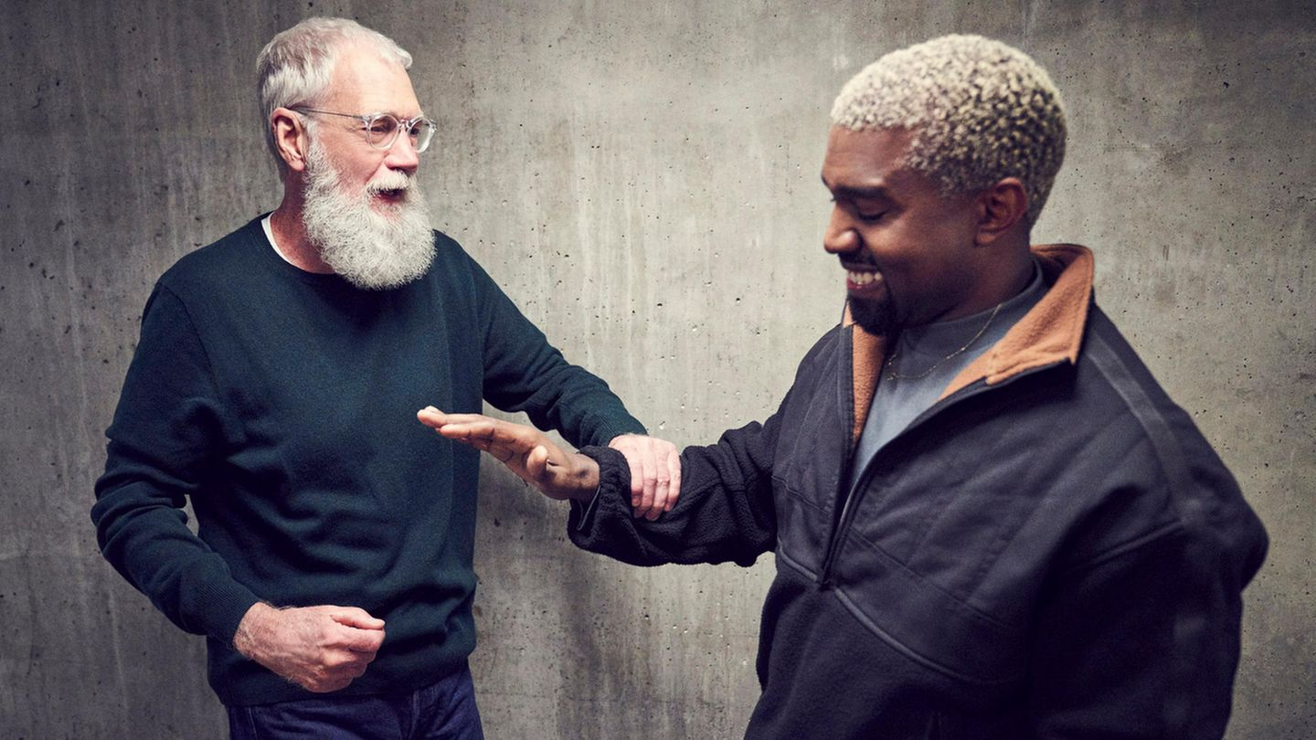 David Letterman und Kanye West