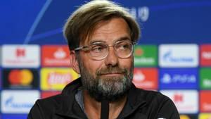 Jürgen Klopp auf der Pressekonferenz vor dem Champions-League-Finale