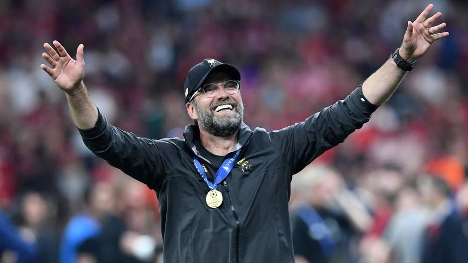 """""""Es fühlt sich richtig gut an"""": Liverpool-Trainer Jürgen Klopp nach dem Sieg gegen Tottenham"""