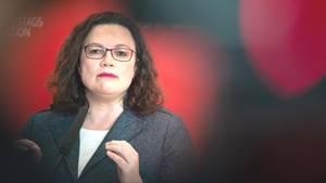 Die Frage stellt sich: Wer ist wirklich am Ende? Nahles oder die ganze SPD?