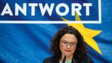 Andrea Nahles - Rücktritt - SPD - GroKo