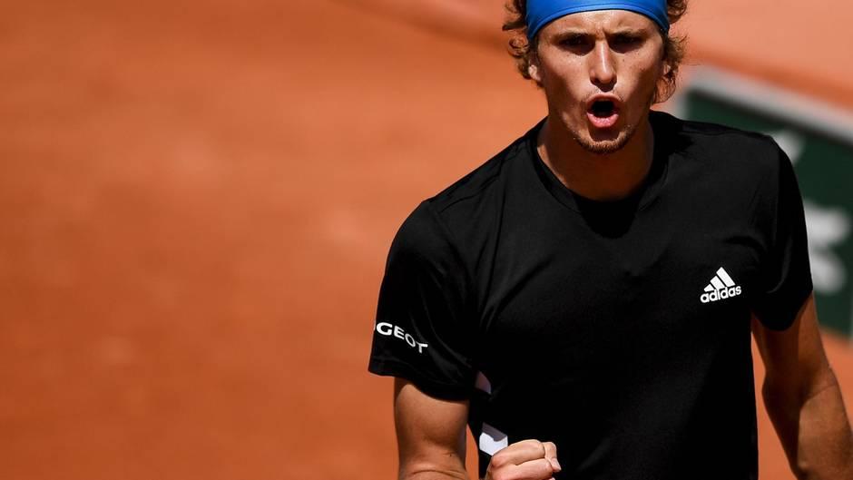 """""""Ich spiele besser als vor drei Monaten"""": Alexander Zverev bei den French Open"""