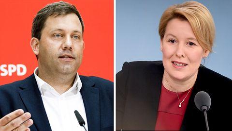 SPD-Politiker Lars Klingbeil und Franziska Giffey