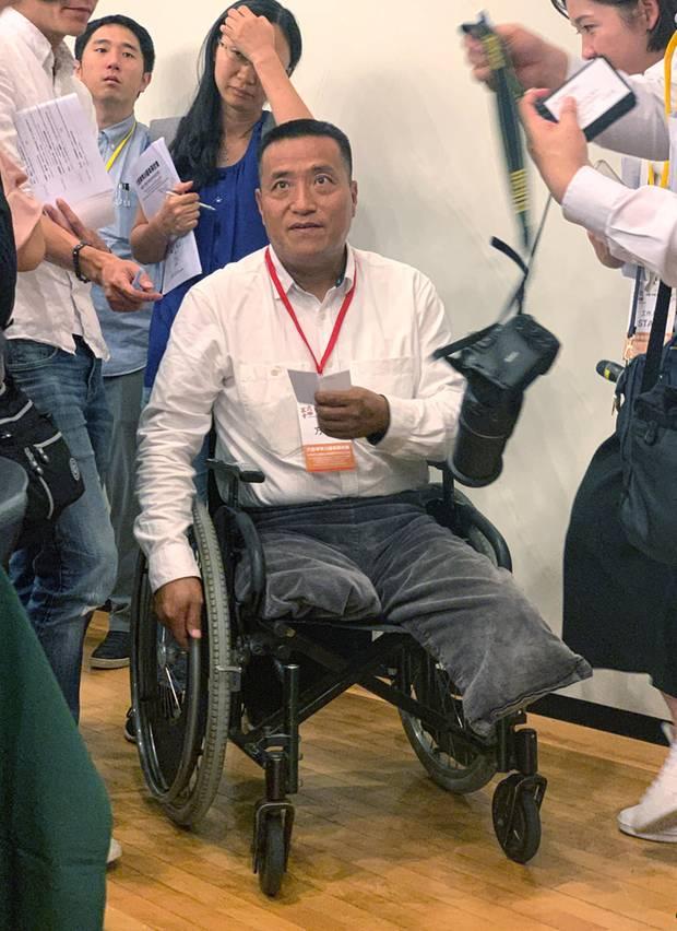 Der in den USA lebende Bürgerrechtler Fang Zheng