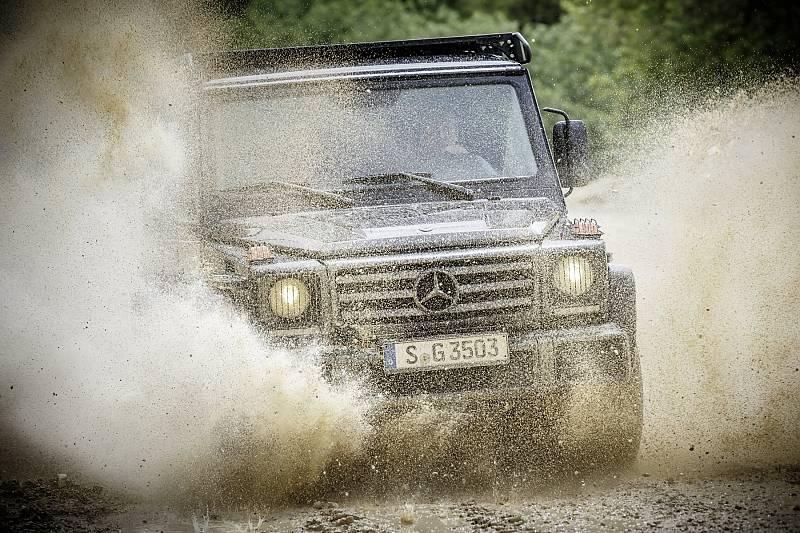 40 Jahre Mercedes G Klasse Legende Wagen Stern De