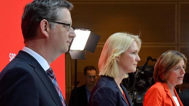 Schäfer-Gümbel, Schwesig, Dreyer werden nicht kandidieren