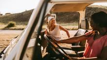 Roadtrips sind super beliebt und eine flexible Art zu Reisen (Symbolbild)