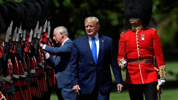 Warum Donald Trumps Besuch viel über den derzeitigen Status Großbritanniens aussagt