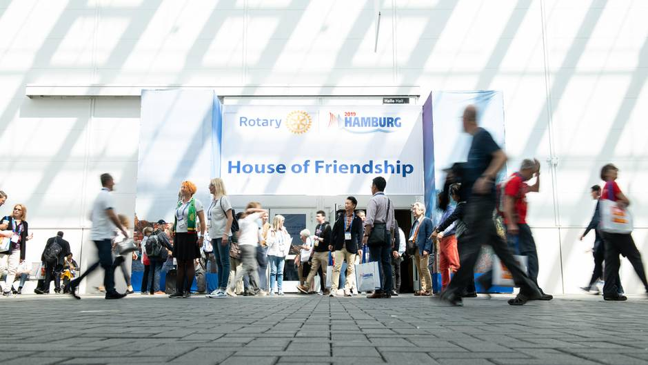 Rotary Convention in Hamburg