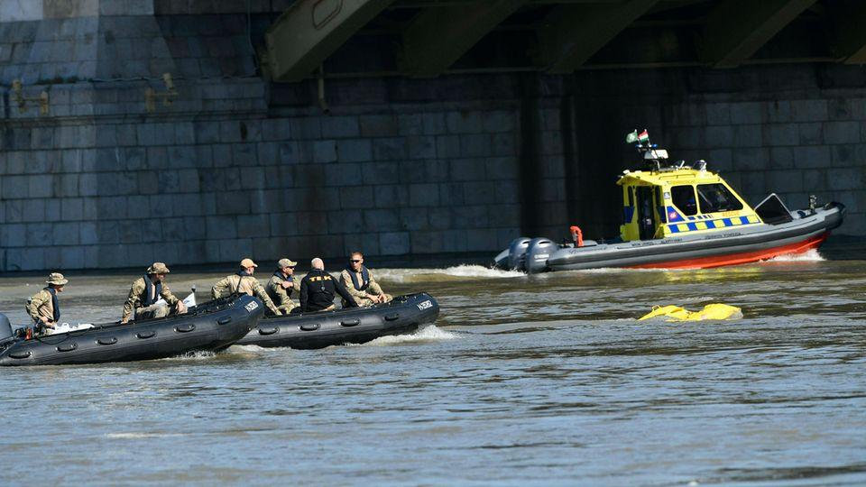 Schiffsunglück in Budapest: Zwei weitere Leichen in der Donau gefunden