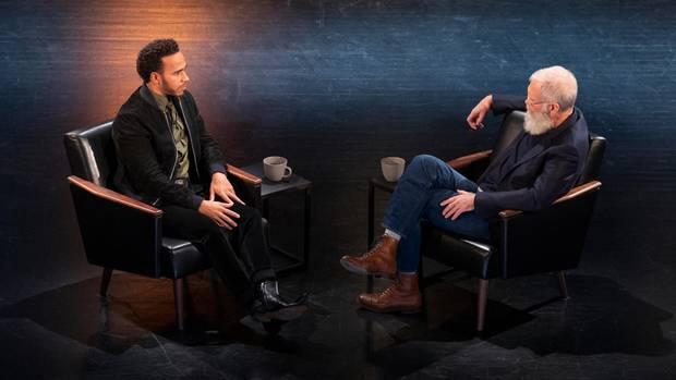 Lewis Hamilton zu Gast bei US-Talker David Letterman