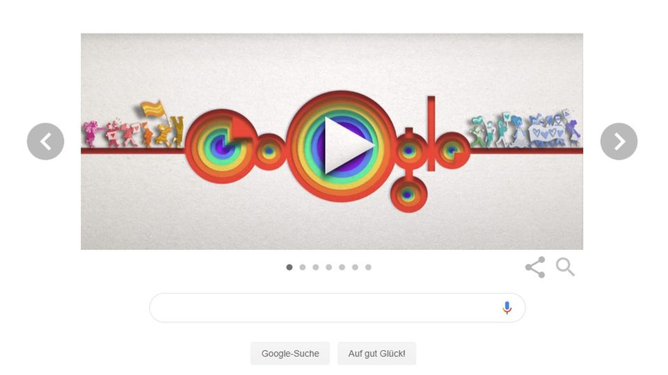 Google Doodle 50 Jahre LGBTQ+