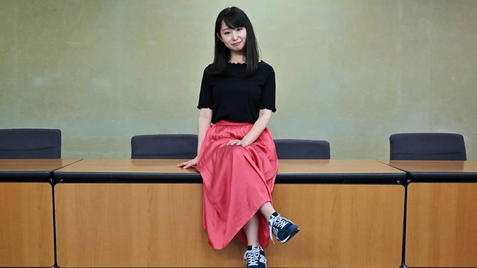 Die Initiatorin der Petition, Yumi Ishikawa