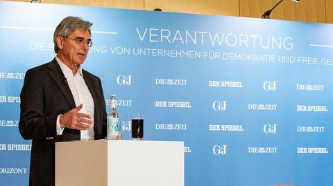 "Joe Kaeser Keynote bei G+J-Veranstaltung ""Verantwortung"""