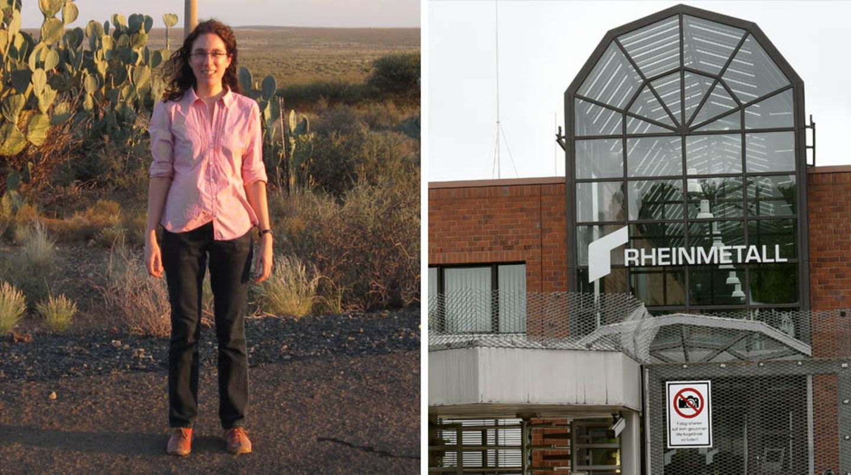 Die amerikanische Ingenieurin Rosemarie Meuer