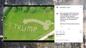 Donald Trump: Student hat eine steife Botschaft an den Präsidenten