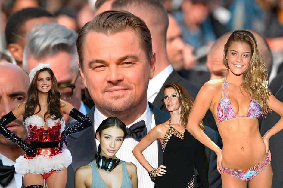 Bis 25 und nicht weiter: Leonardo DiCaprio wird immer älter – seine Freundinnen nicht