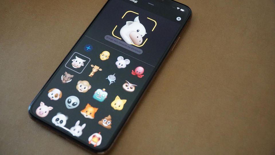 Die neuen Animoji gibt es für iPhone X und iPhone XS