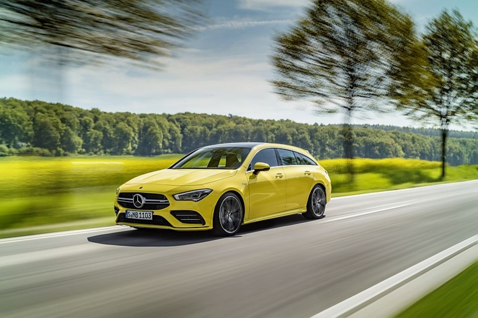 Mercedes AMG CLA 35 Shooting Brake