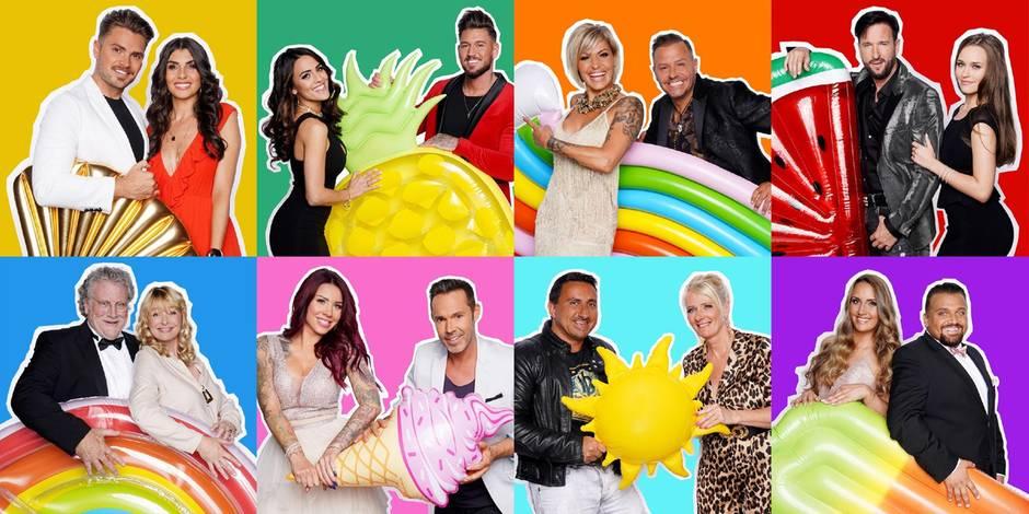 """RTL-Show: Diese acht Paare zoffen sich im """"Sommerhaus der Stars"""""""