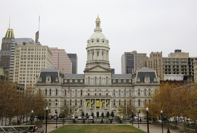 Angriff auf Baltimore: Das Rathaus von Baltimore ist durch den Hack gelähmt