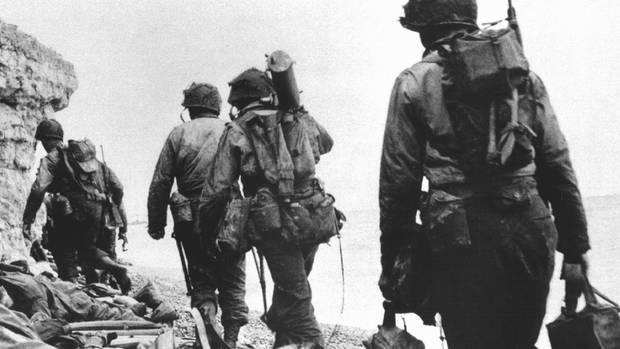 Die meisten der US-Ranger überlebten den Sturm nicht.