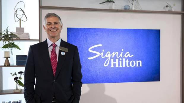 Chris Nassetta ist Chef der Hotelkette Hilton.