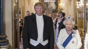 Donald Trump Queen Elizabeth II.