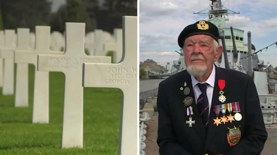 """75 Jahre D-Day: """"900 Flugzeuge bombardierten die Strände"""" –Amerikaner, Franzose und Brite schildern Landung in der Normandie"""