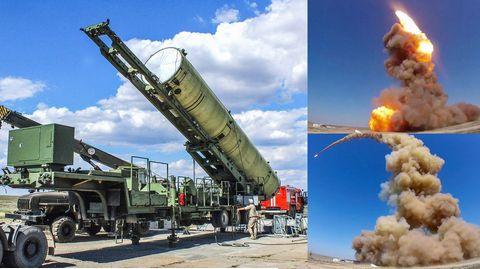 Die Rakete wurde in Kasachstan gestartet.
