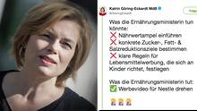 Ernährungsministerin Julia Klöckner erhält Shitstorm nach Video mit Nestlé-Chef