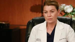 Ellen Pompeo in ihrer Rolle als Dr. Meredith Grey