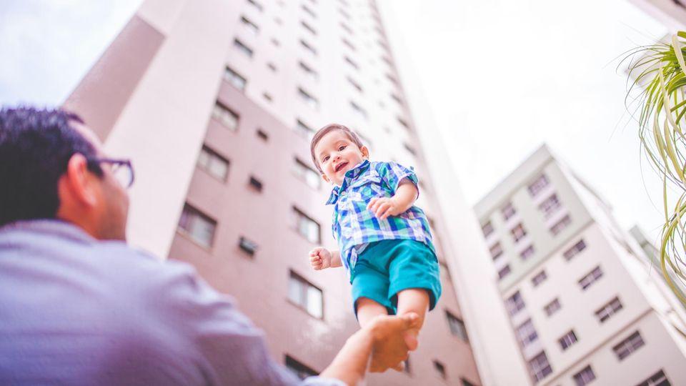 Tanzen uns gern mal auf der Nase rum: Kinder