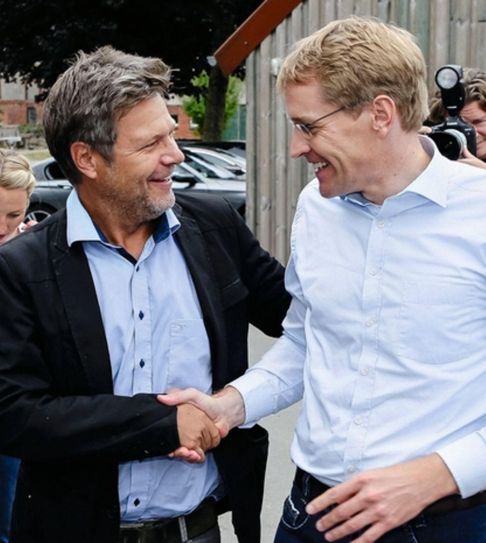 Habeck mitCDU-Ministerpräsident Daniel Günther