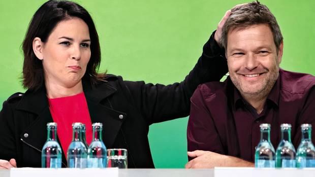 Weggefährten: Habeck mit Co-Grünen-Chefin Annalena Baerbock