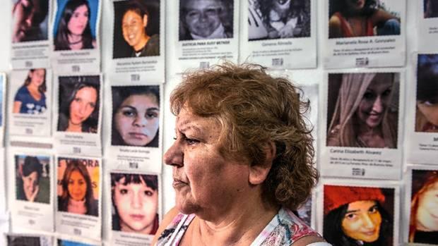 """Margarita Meira führt die Organisation """"Mütter der Opfer von Menschenhandel"""""""