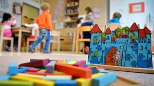 In einem Kindergarten
